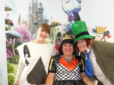 We Are Beams   Mad Hatter Tea Party