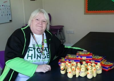 Asda Julie and chicks